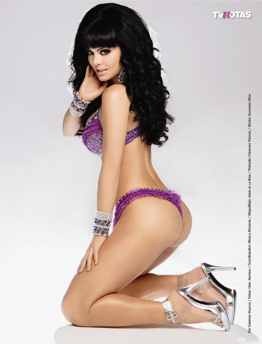 Maribel Guardia Revista TVNotas Enero 2011